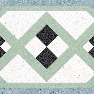 tipo:graniglia - tipo:decoro - nome:La Dama di picche - Коллекция Декор