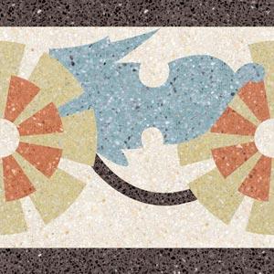 tipo:graniglia - tipo:decoro - nome:La pulzella d'Orléans - Коллекция Декор