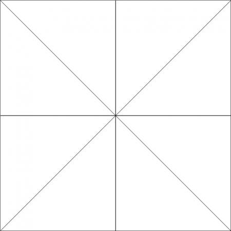 modulo minimali outline diagonal
