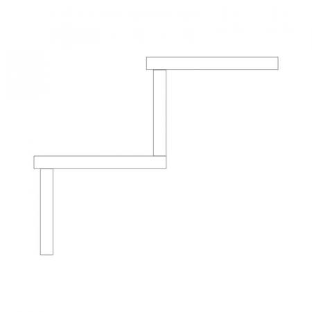 tipo:graniglia - tipo:decoro - nome:Scale Costa Retta - дополнительных изделий>лестниц